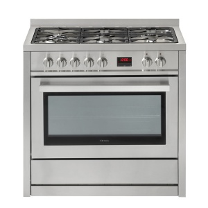 90cm Dual Fuel Cooker (Stainless Steel)