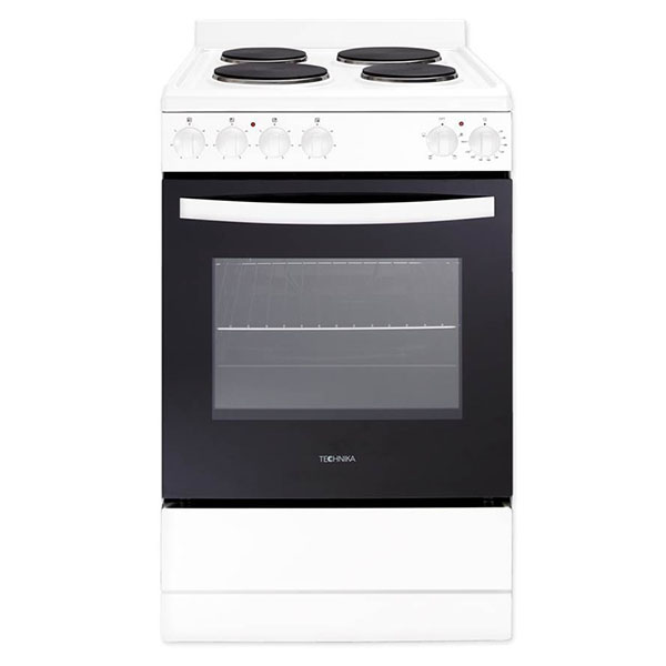 540mm White Upright Cooker