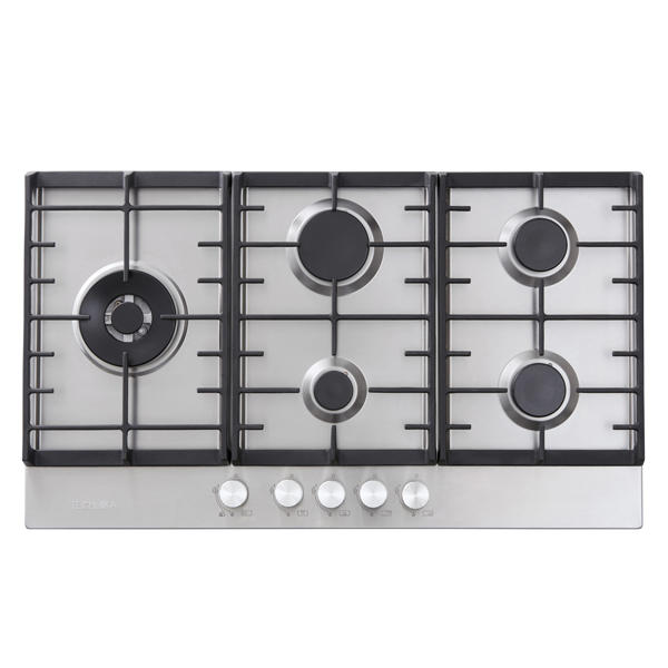 90cm Gas Cooktop (Stainless Steel)